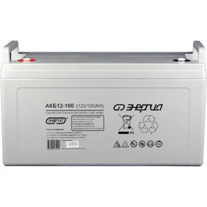 Аккумулятор для ИБП AGM Энергия АКБ 12В-100 А/Ч (Фото)