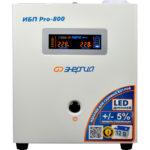 ИБП Энергия Pro 800 (0.8 кВт) UPS 220В - фото